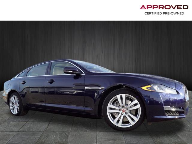 certified pre-owned 2017 jaguar xjl portfolio 4 door sedan in edison