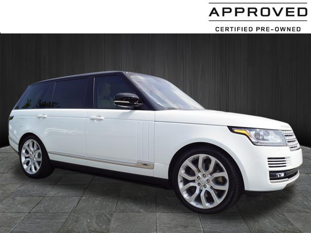 Certified Pre Owned 2017 Land Rover Range Supercharged Lwb