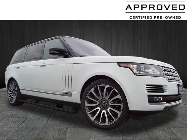 Certified Pre Owned 2017 Land Rover Range Autobiography Lwb