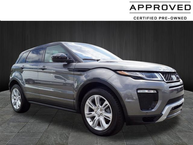 Certified Pre Owned 2017 Land Rover Range Evoque Hse Dynamic