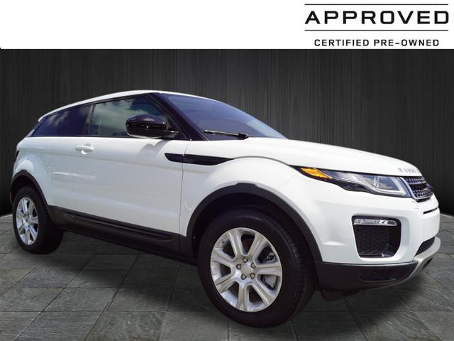 Certified Pre Owned 2016 Land Rover Range Rover Evoque Coupe Se