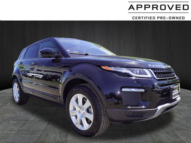 Certified Pre Owned 2017 Land Rover Range Evoque Se Premium
