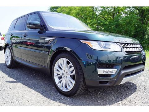 New 2017 Land Rover Range Rover Sport HSE Td6