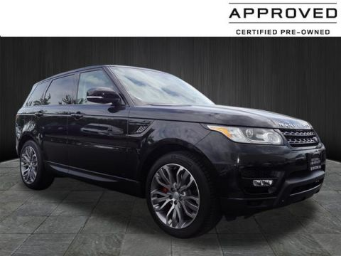 Certified Pre-Owned 2015 Land Rover Range Rover Sport 5.0 Supercharged